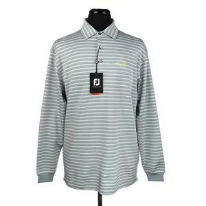 NWT FootJoy FJ Long Sleeve Golf Polo Shirt